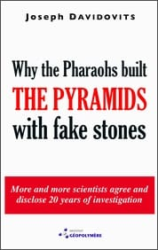 Book cover: Why the pharaohs built the Pyramids with fake stones